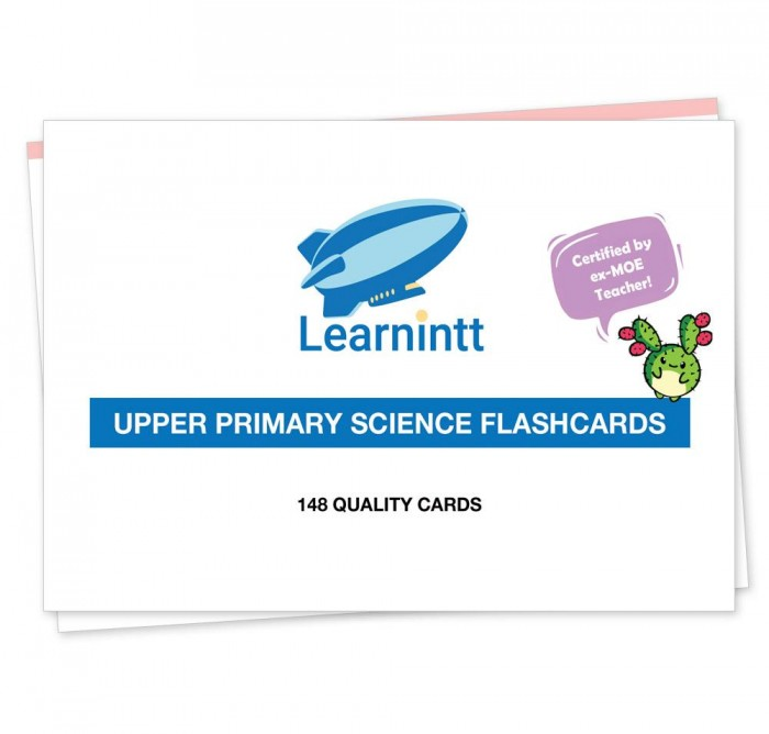 PSLE Upper Primary Science Flashcards V4