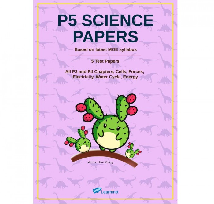 P5 Science Papers, by Hana Zhang (Printed Test Papers)