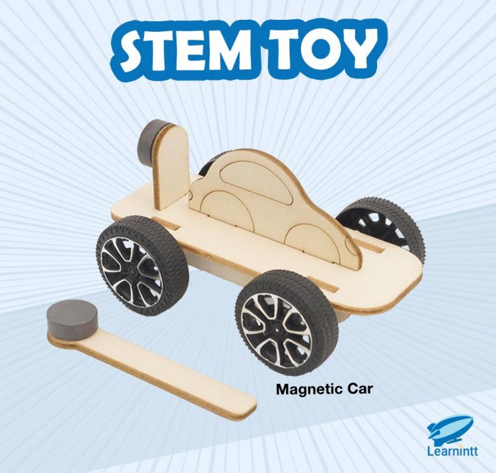 STEM Toy: Magnetic Car (For Age 4-8)