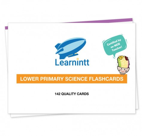 PSLE Lower Primary Science Flashcards V4