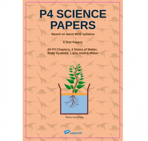 P4 Science Papers, by Hana Zhang (Printed Test Papers)