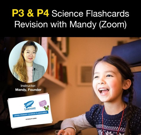 Lower Primary Science Flashcards Revision with Mandy (Zoom)