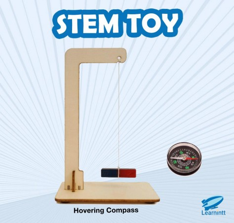 STEM Toy: Hovering Compass (For Age 4-8)