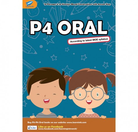 Primary 4 English Oral Booklet, by Hana Zhang (Soft Copy)