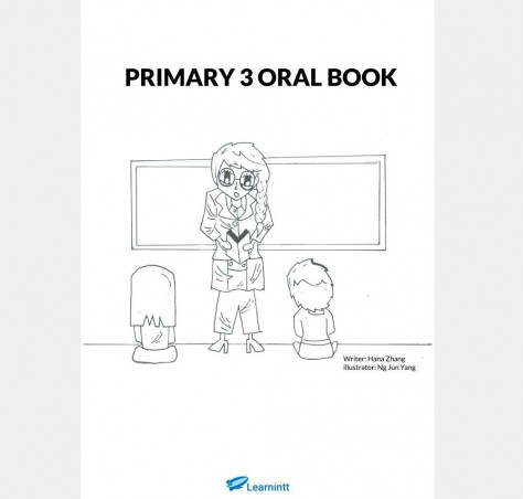 Primary 3 English Oral Booklet, by Hana Zhang (Printed Book)