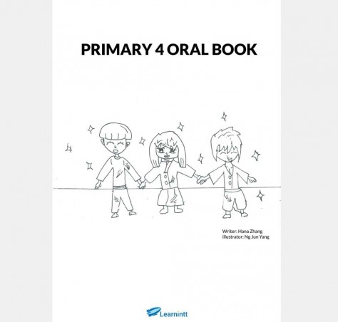 Primary 4 English Oral Booklet, by Hana Zhang (Printed Book)